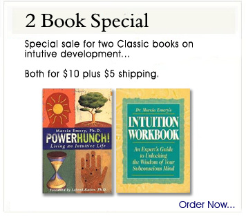 Two Book Special on Intuitive Development...